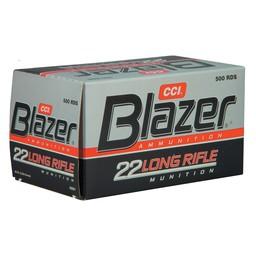 Blazer Blazer .22LR Rimfire Ammunition 40 Grain 500-Count