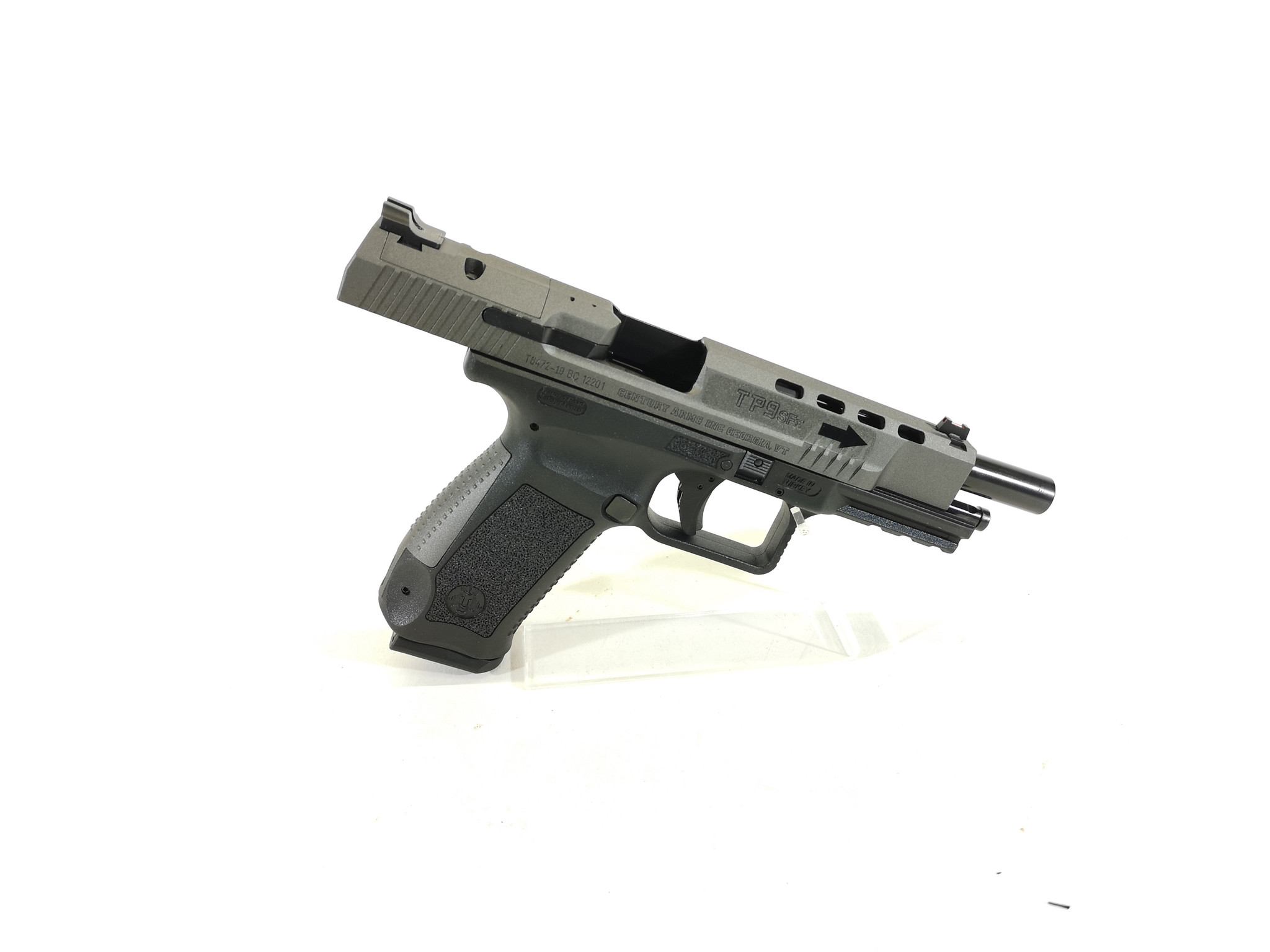 Canik USED UHG-6855 Canik Model TP-9 SFX c.9mm Semi Auto Pistol with Original Case and Contents. Mint Condition