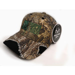 Triggers and Bows Distressed Camo Embroidered Logo Cap