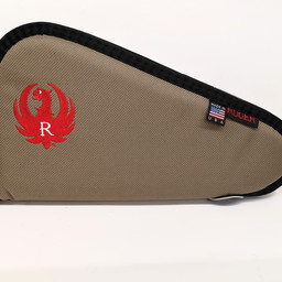 "Allen Ruger 13"" Pistol Soft Case Taupe/Red"