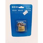 Bedi Solid Brass Padlock 25mm