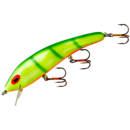 Cotton Cordell Cotton Cordell Chartreuse Perch Suspended Rippler