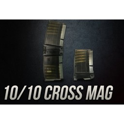 Cross Industries Cross Industries 10/10 Dual 10 Round AR-15 Pistol Magazines