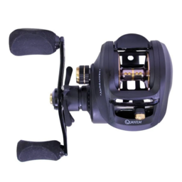 Quantum Quantum PT Smoke Heavy Duty 200 Right Hand Bait Caster Reel