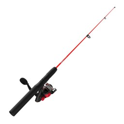 "Zebco Zebco Dock Demon 30"" 1 Piece Spinning Reel Combo 6# Red"