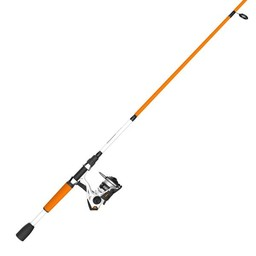 Zebco Zebco Roam 20SZ 2 Piece Spinning Reel Combo Orange/White