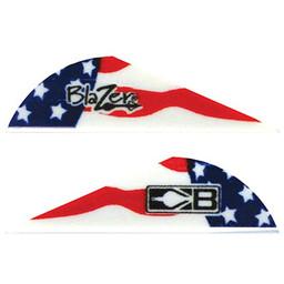 "Bohning Blazer 2"" American Patriot Vanes"