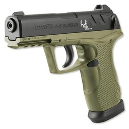 Gamo C-15 Bone Collector Semi-Automatic Blowback Co2 Air Pistol .177 Cal.