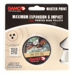 Gamo Maximum Expansion and Impact Pointed Head Pellets .177 Cal. (250 Count)