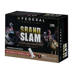 Federal Federal Grand Slam Copper Plated Lead Shotgun Shells (10-Rounds)