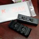 Kodiak Defense Inc. Keymod Rail Kit (2-Piece Aluminum)