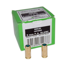Sellier and Bellot Sellier and Bellot 9mm P.A. Blanc (50 Count)