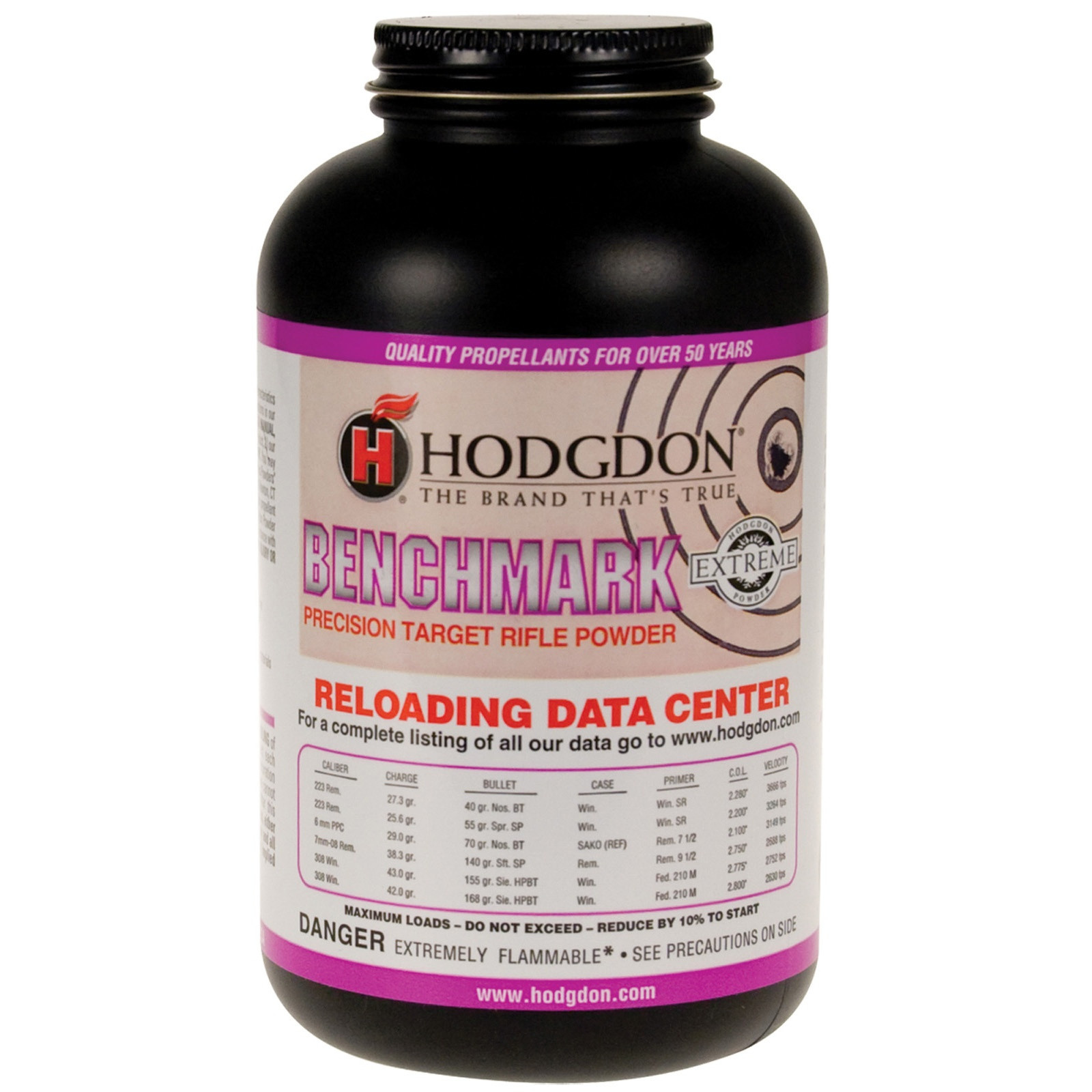 Hodgdon Benchmark Reloading Powder 1lb