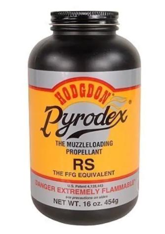 Hodgdon Pyrodex RS FFG Equivalent Powder 16oz.