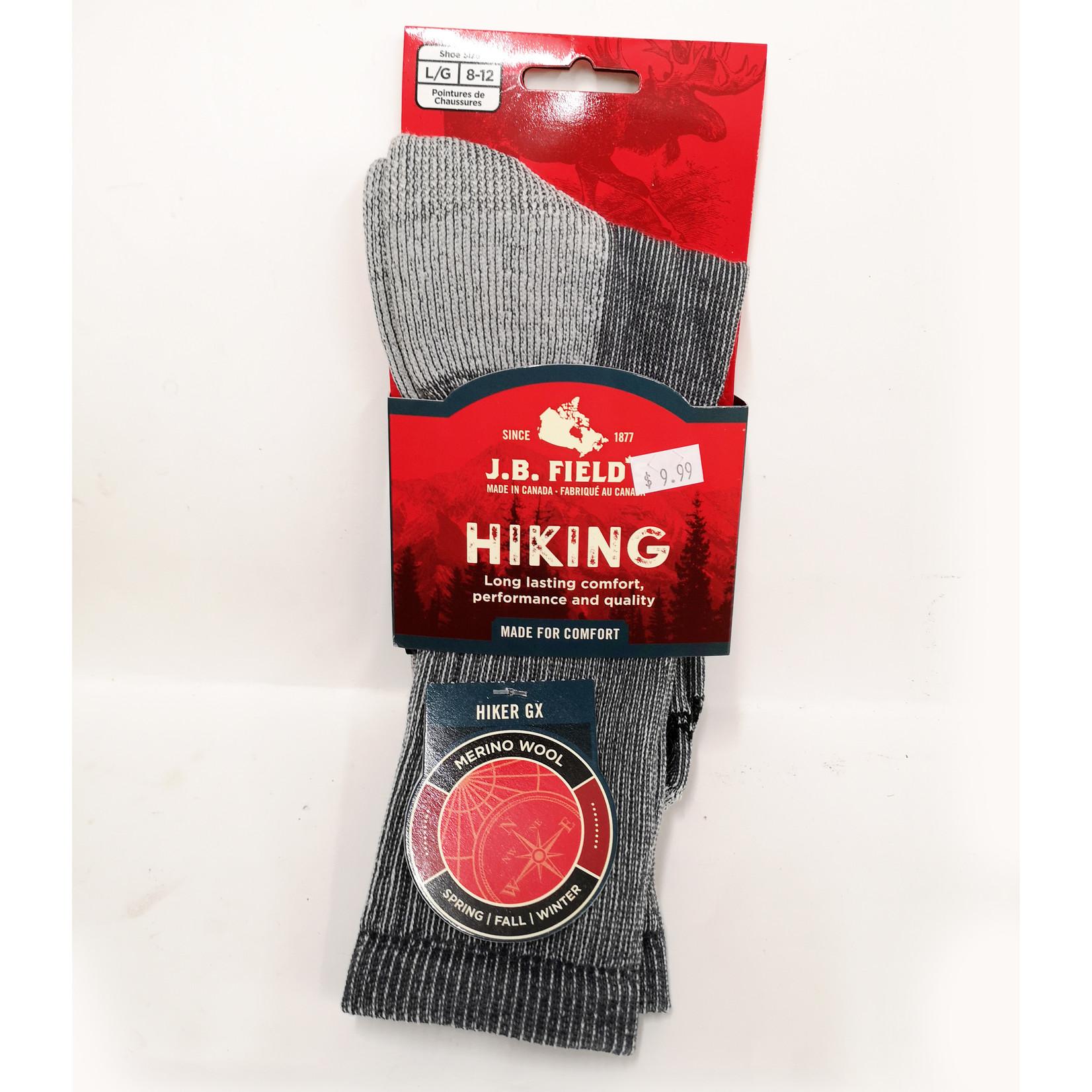 J.B. Field's Hiking Sock Backpacker