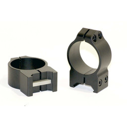 Warne Scope Mounts Warne Maxima 30mm Medium Height Steel Rings