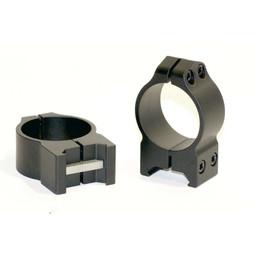 Warne Scope Mounts Warne Maxima 30mm Medium Height Steel Rings