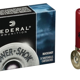 "Federal Federal Power-Shok 12 Gauge 2 3/4"" 00 Buckshot (5 Rounds)"