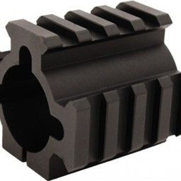 "TacStar Rail Mount 1"" Diameter 3 Picatinny Rails"