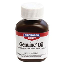 Birchwood Casey Birchwood Casey Genuine Oil Traditional Satin Oil 3 FL Oz Finish