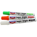 Birchwood Casey Super Bright Touch Up Pens (Florescent Red, Neon Green, & White)