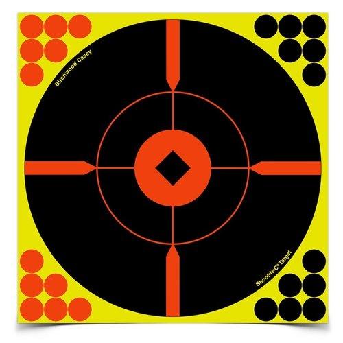 "Birchwood Casey Birchwood Casey Shoot-N-C Reactive Targets 8""x8"" (6 Pack)"