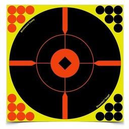"Birchwood Casey Birchwood Casey Shoot-N-C Self Adhesive Reactive Targets 8""x8"" (50 Pack)"