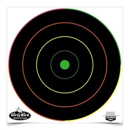 "Birchwood Casey Birchwood Casey Dirty Bird Multi Colour Spattering Targets 12""x12"" (10 Pack)"