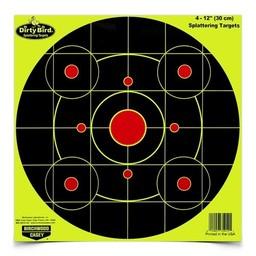 "Birchwood Casey Birchwood Casey Dirty Bird Splatting Targets 12""x12"" (25-Pack)"