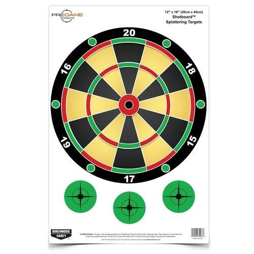 "Birchwood Casey Birchwood Casey Pre-Game Shotboard 12""x18"" (8-Pack)"