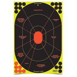 "Birchwood Casey Birchwood Casey Shoot-N-C Self-Adhesive 12""x18""  (5-Pack)"