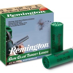 """Remington Remington Gun Club Target Load Shotgun Shells (250-Rounds) 12 Gauge 2 3/4"""" Shot #9"""