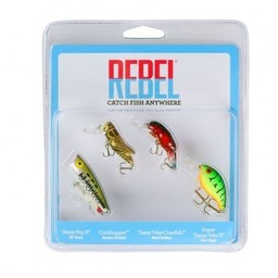 Rebel Rebel Classic Critter 4 Pack Tackle