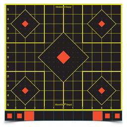 "Birchwood Casey Birchwood Casey Shoot-N-C 12""x12"" Sight in Target (50-Pack)"