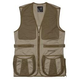 Browning Browning Dutton Shooting Vest Reactar G3  Pad Pocket Large (Brackish/Mil Green)