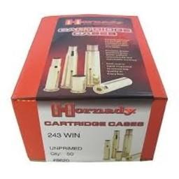 Hornady Hornady Unprimed 243 Cartridge Case (50 Count)