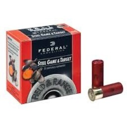 "Federal 28 Gauge 2 3/4"" #6 Shot Steel Game and Target"