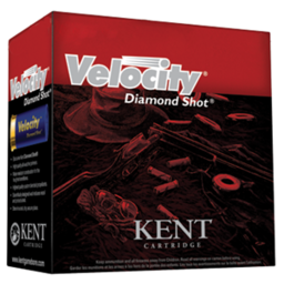 Kent Kent Velocity w/ Diamond Shot Sporting/Target Shotgun Shells (25-Rounds)
