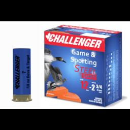 """Challenger Challenger Game & Sport 12 Gauge 2 3/4"""" #6 Steel"""