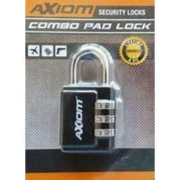 Axiom Security Axiom Combo Pad Lock