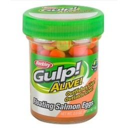 Berkley Gulp Alive Floating Salmon Eggs Orange Comet 58g