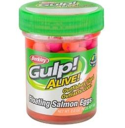 Berkley Gulp Alive Floating Salmon Eggs Sherbet Blast 58g