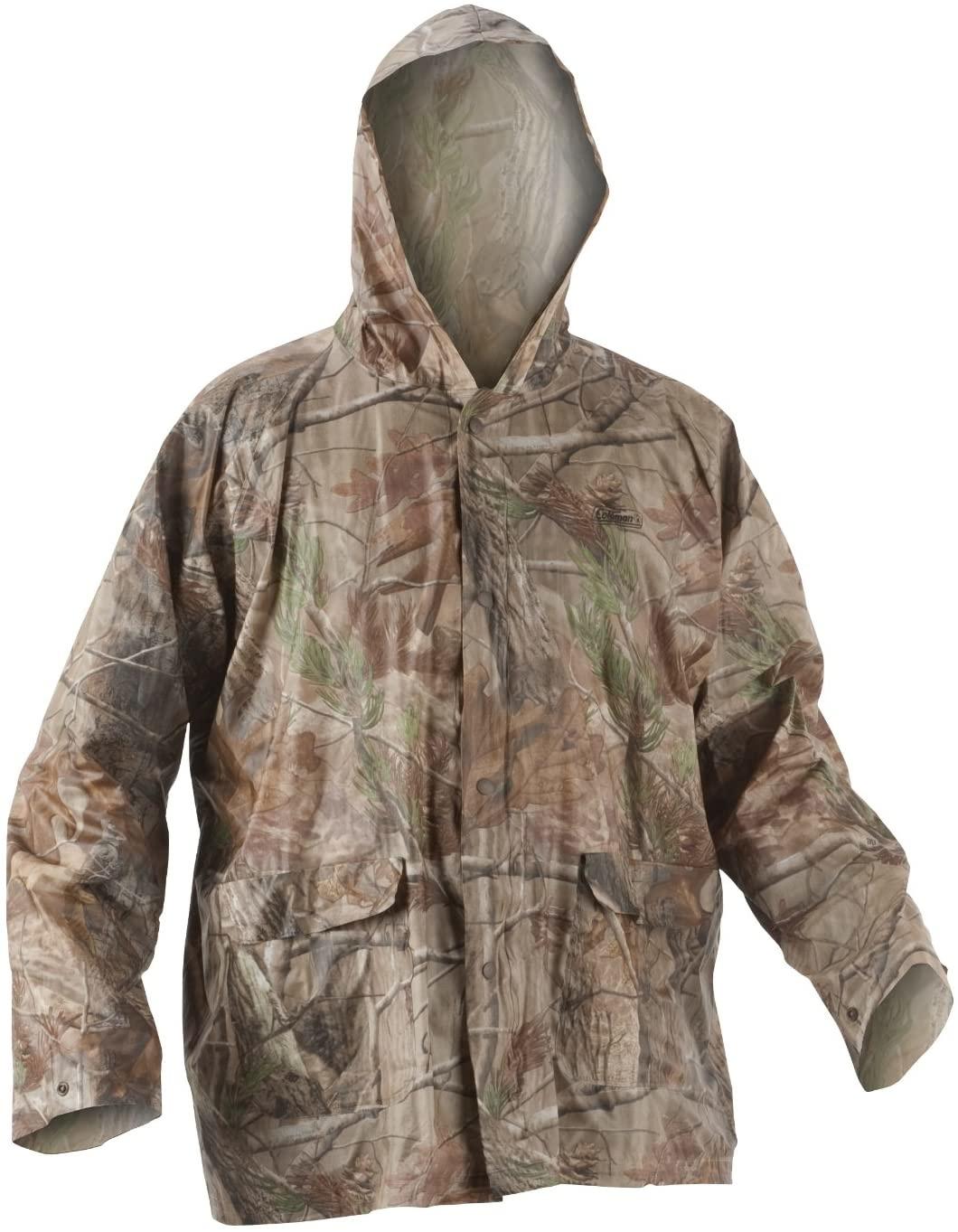 Coleman PVC Camo Rain Suit