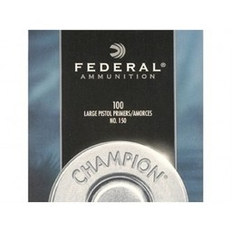 Federal Federal No. 150 Large Pistol (100-Count)