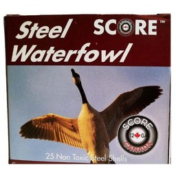 Score Steel Waterfowl Shotgun Shells (25-Rounds)