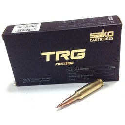 Sako Sako TRG Precision 6.5 Creedmoor 136 Grain Hollow-Point Boat Tail (20-Rounds)
