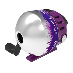 Zebco Zebco Splash Junior Spincast 10# Reel Purple / Black