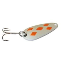 Len Thompson Len Thompson Original Series White/Orange Diamond Lumenescente Spoon
