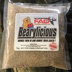 Fatal Attraction Outdoors Bearylicious Bear Attractant 1kg Mineral Mix Berry Scent