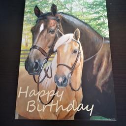 "Imagimex Greeting Cards ""Happy Birthday"" Horse"